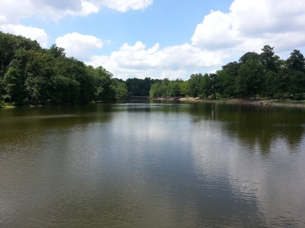 Lake at University of Richmond