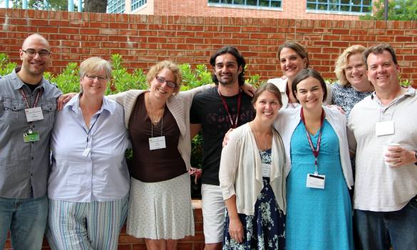 My group at ACS Teaching and Learning Workshop, 2014.